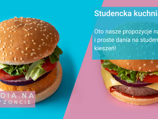 Studencka Kuchnia #1 Bułki i burgery