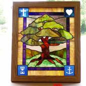 Tree with Symbols.