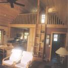 Minnesota Cabin Living Room
