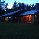 South side at dusk