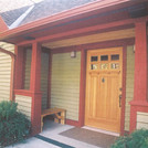 Minnesota Cabin Porch