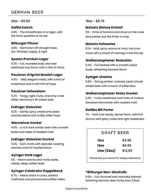 German Cafe - Beer List.jpg