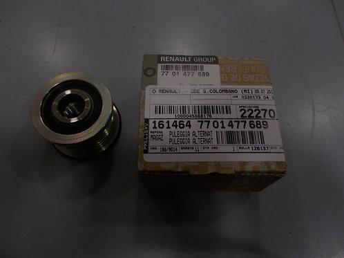 7701477689 Puleggia alternatore Originale Renault