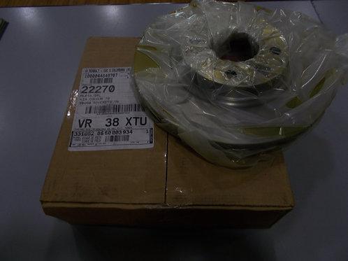 8660003934 Kit 2 dischi freni anteriori Originali Renault Dacia Motrio