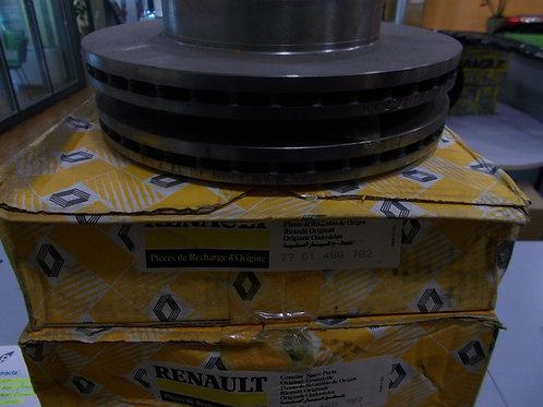 7701466782 Kit 2 dischi freno anteriori Originali Renault