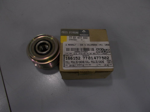 7701477502 Puleggia alternatore Originale Renault