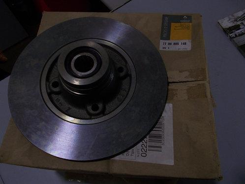 7700805148 Kit 2 dischi freni posteriori Originali Renault