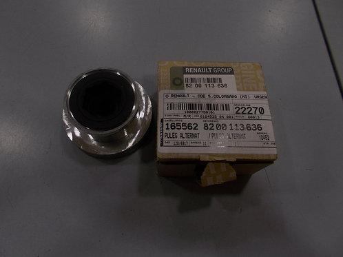8200113636 Puleggia alternatore Originale Renault