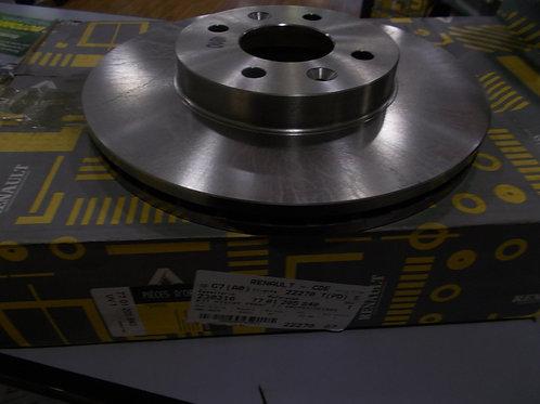 7701205840 Kit dischi freno anteriori Originali Renault