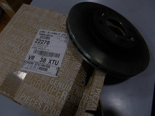 8201464598 Kit 2 dischi freno anteriori Originali Renault