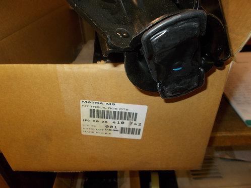 6025410742 Verricello ruota di scorta kit completo Originale Renault nuovo