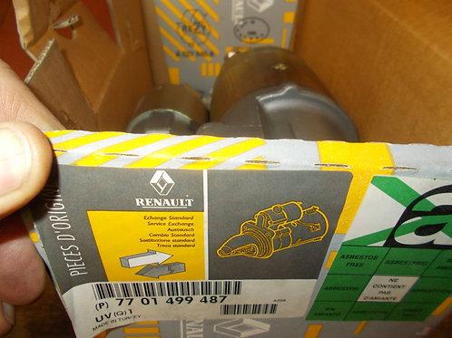 7701499487 Motorino avviamento Originale Renault
