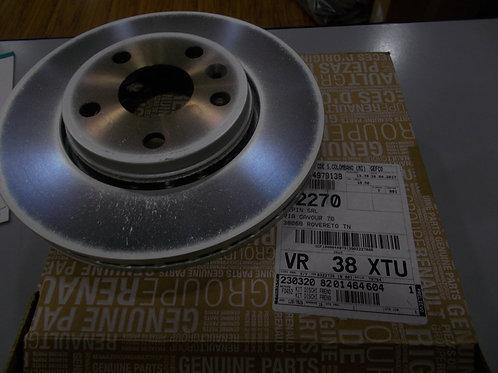 8201464604 Kit 2 dischi freno anteriori Originali Renault