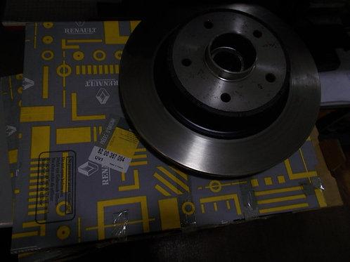 8200367094 Kit 2 dischi freno posteriori Originali Renault