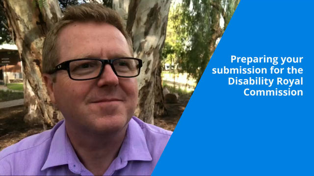 My tips to service providers for the Disability Royal Commission (video only)