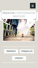 Organisation d'Événements website templates – Photographe Noces