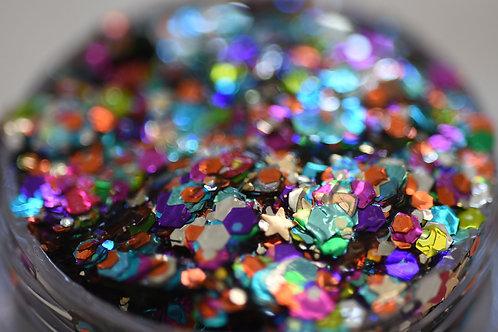 Birthday Cake Festival Glitter Gel
