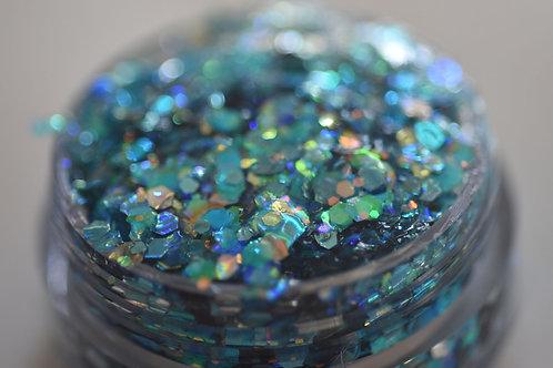 Marine Fairy Festival Glitter Gel
