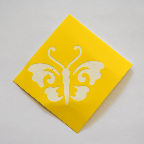 Butterfly Stencil  -  5 Pack