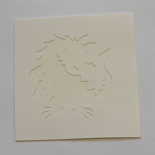 Dragon Stencil -  5 Pack