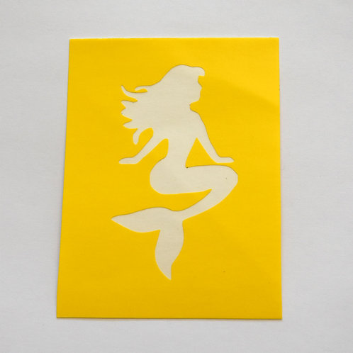 Mermaid Stencil  -  5 Pack