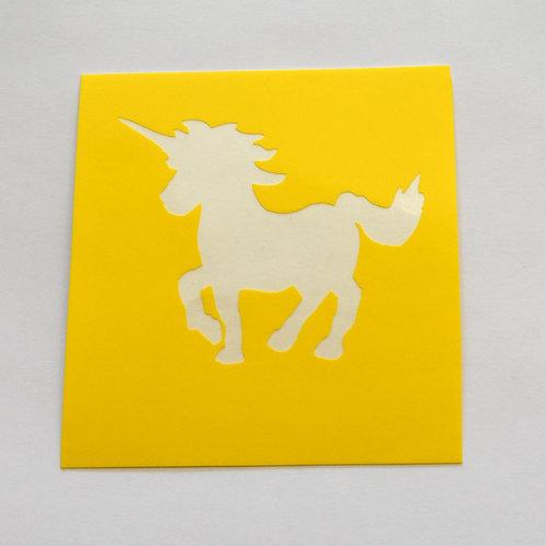 Unicorn Stencil  - 5 Pack
