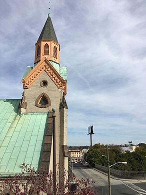 Roseville Presbyterian Church, Roseville Avenue, I-280, NEwar