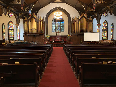 Roeville Presbyterian Church Sanctuary
