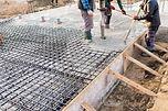 pouring concrete slab - concrete pouring