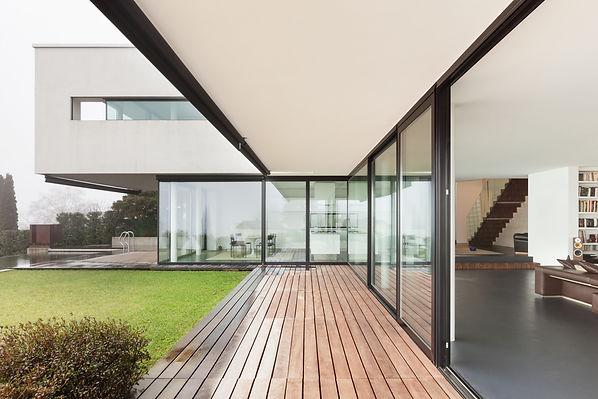 Architecture, beautiful interior of a mo