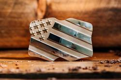 Scallop Flag Bronze