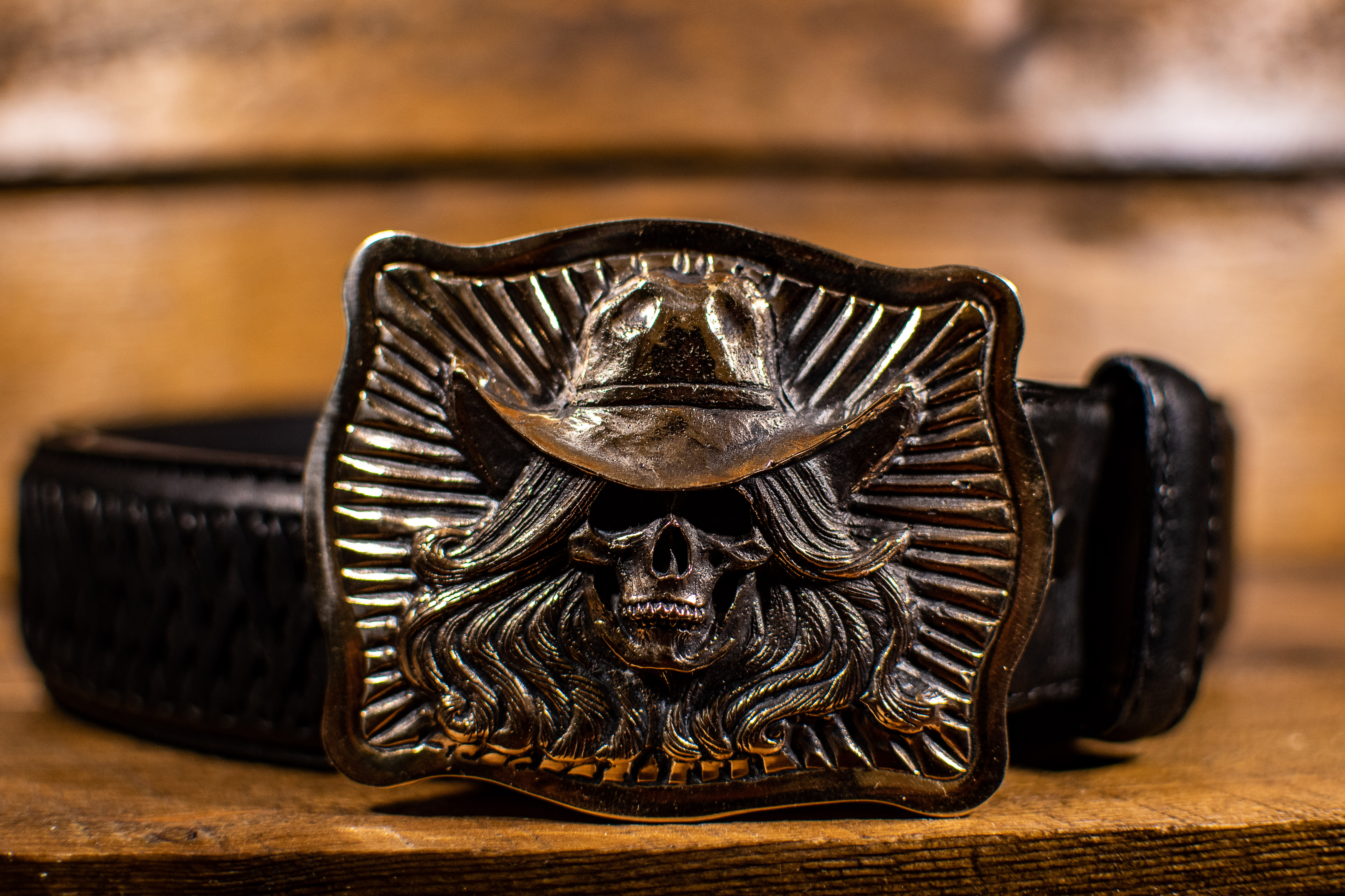 Cowgirl Skull