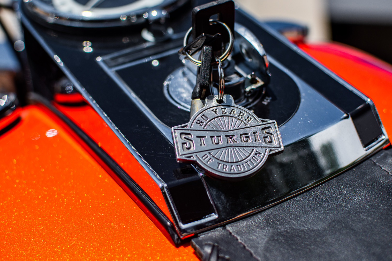 Sturgis 80th Keychain
