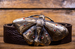 Bronze Moth Orange Stones