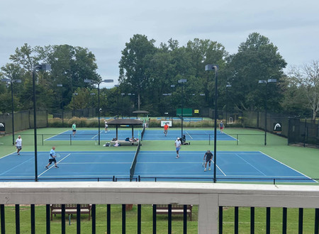 Racquet Club News: September 22