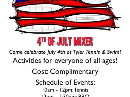 4th of July Mixer