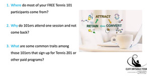 Growing the Game: Attracting, Converting and Retaining Adult Beginner Tennis Players
