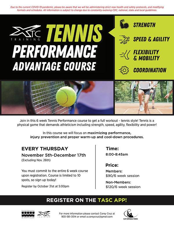 TASC_XTC_TennisPerformanceCourse_Fall202