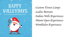 Holiday Gifts With Cliff Drysdale Tennis