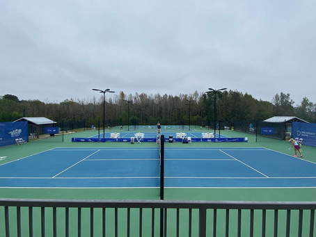 Singles Qualifying Begins with Upsets and American Victories