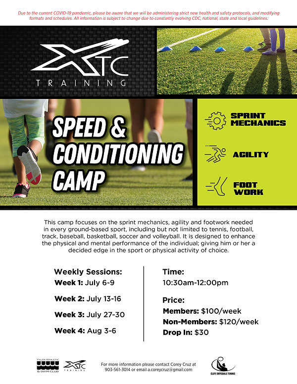 TASC_XTC_SpeedConditioningCamp_Summer202