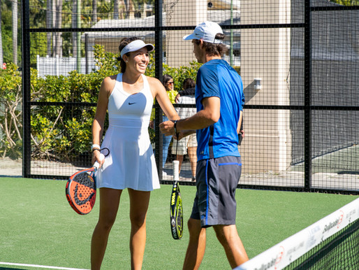 Are you in the business of tennis or racquet sports?