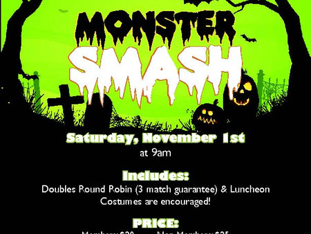 Monster Mash Halloween Mixer