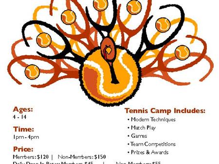 Thanksgiving Break Tennis Camp