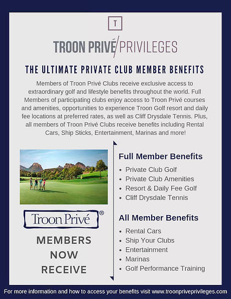 Troon Prive Privleges Member Benefits.jp