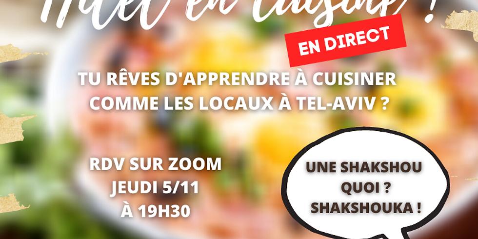Hilel en cuisine ! 👩🍳
