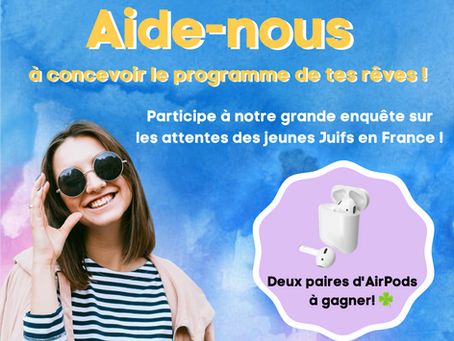 PARTICIPE À NOTRE ENQUÊTE ET GAGNE LES AIRPODS ! 🍀