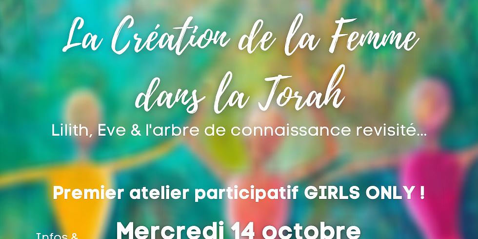 Cercle de Femmes - Création de la Femme dans la Torah / Hilel x BEST Paris