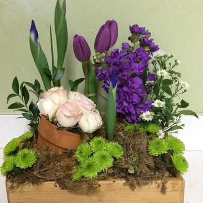 Spring Garden Fresh Arrangement