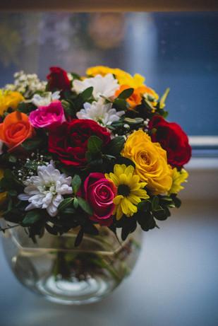 Bright Mixed Flower Arrangement